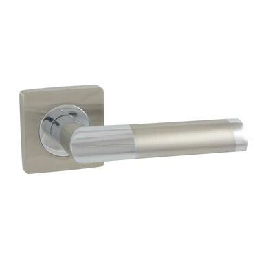 Klamka drzwiowa na rozecie JARO-QR Chrom/nikiel