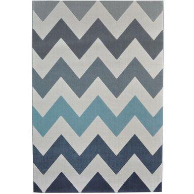Dywan SCANDINAVIA niebieski 80 x 150 cm