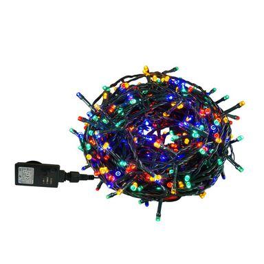 Lampki choinkowe zewnętrzne 19.95 m 400 LED multikolor z gniazdem i włącznikiem czasowym