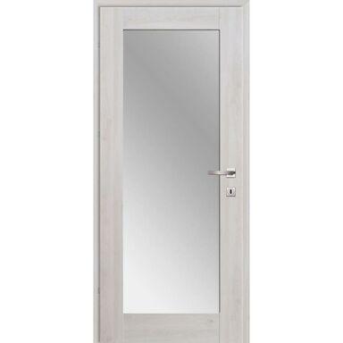 Skrzydło drzwiowe DELA Z LUSTREM Dąb nordycki 70 Lewe CLASSEN