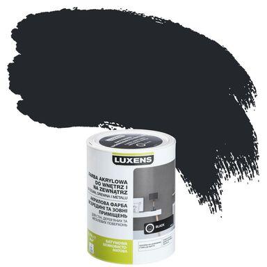 Emalia AKRYLOWA 0,75 l Black LUXENS