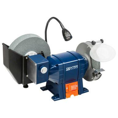 Dwutarczowa szlifierka stołowa z kołem wodnym 150 / 200 mm MD150/200QL-1 250 W DEXTER POWER