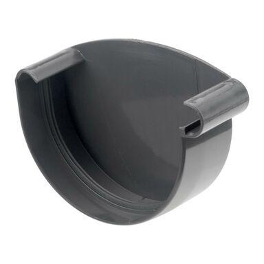 Zaślepka rynnowa lewa PVC 75 PVCLINE