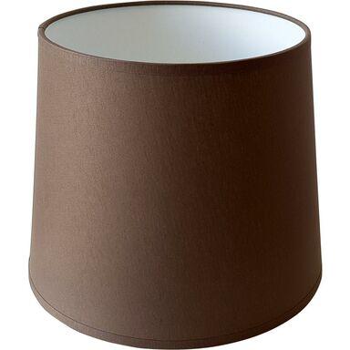 Abażur 9989 owalny 16-14x 16 cm tkanina ciemny brąz E27 TK LIGHTING