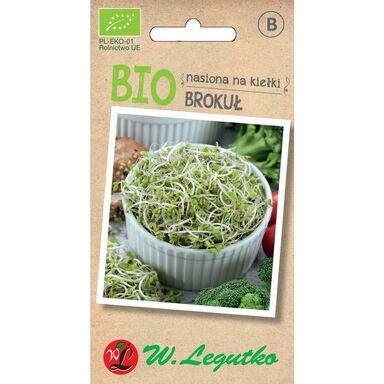 Brokuł BIO nasiona na kiełki ekologiczne 5 g W. LEGUTKO