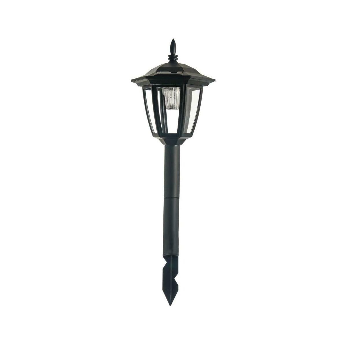 Lampa Wbijana Solarna Ip44 Wys 51 Cm Czarna Jumi Oswietlenie Ogrodowe Solarne W Atrakcyjnej Cenie W Sklepach Leroy Merlin