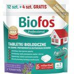 Tabletki do szamb przydomowych 16 szt. BIOFOS PROFESSIONAL
