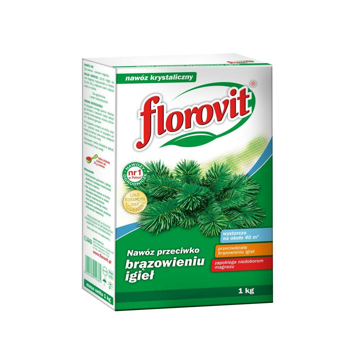 Nawóz do iglaków 1 kg FLOROVIT