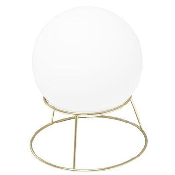 Lampa stołowa CELESTE biało-złota E27 INSPIRE