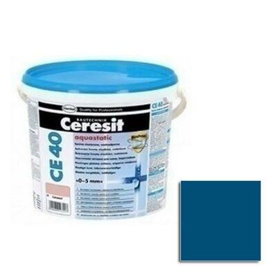 Fuga cementowa WODOODPORNA CE40  granatowy  2 kg CERESIT
