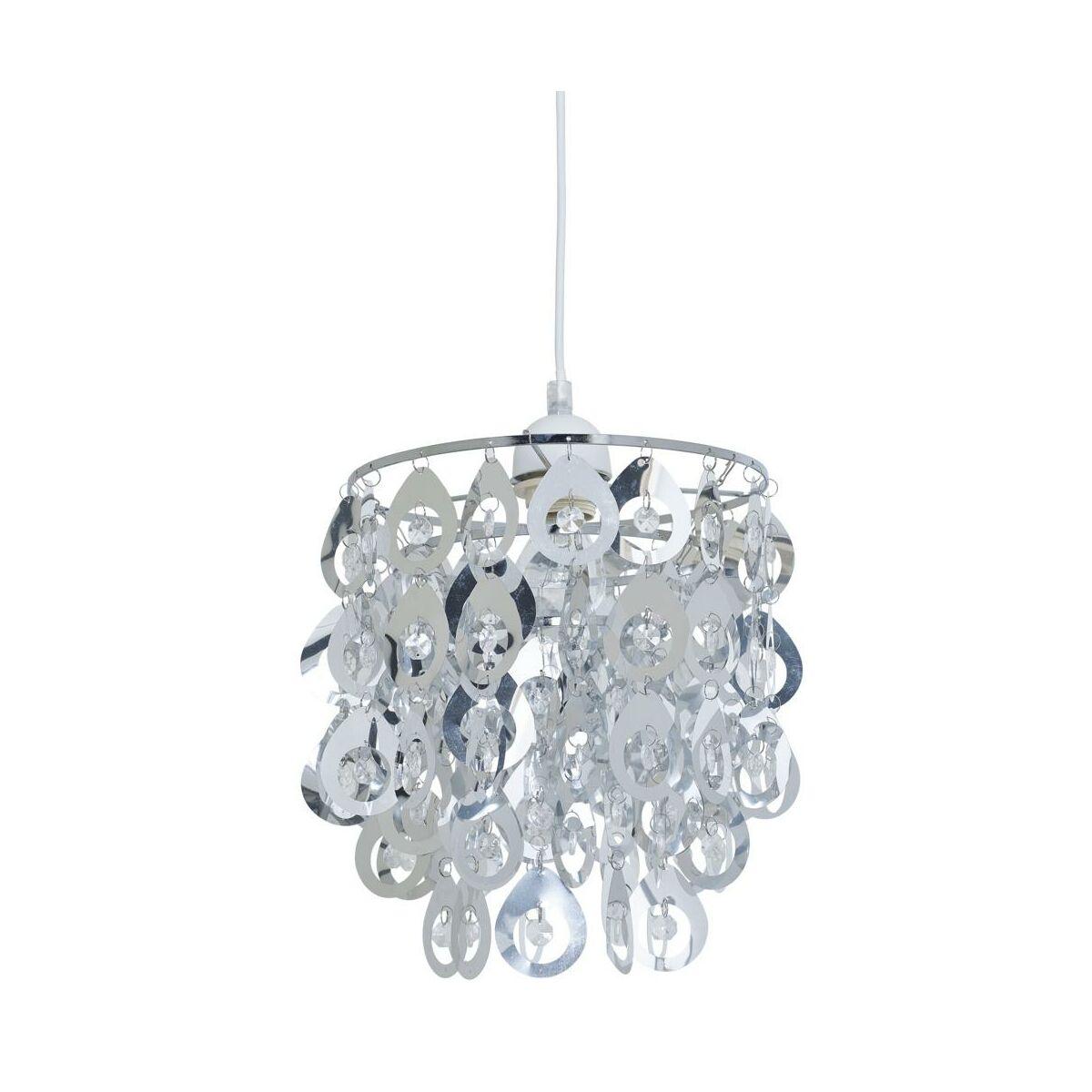 Lampa Wiszaca Lamia Chrom E27 Inspire Zyrandole Lampy Wiszace I Sufitowe W Atrakcyjnej Cenie W Sklepach Leroy Merlin