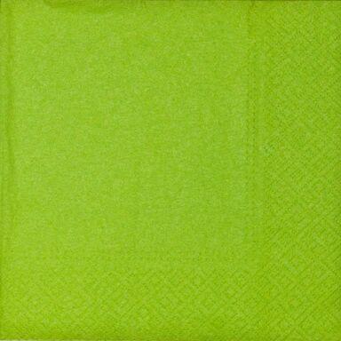 Serwetki UNICOLOR zielone 33 x 33 cm 20 szt.