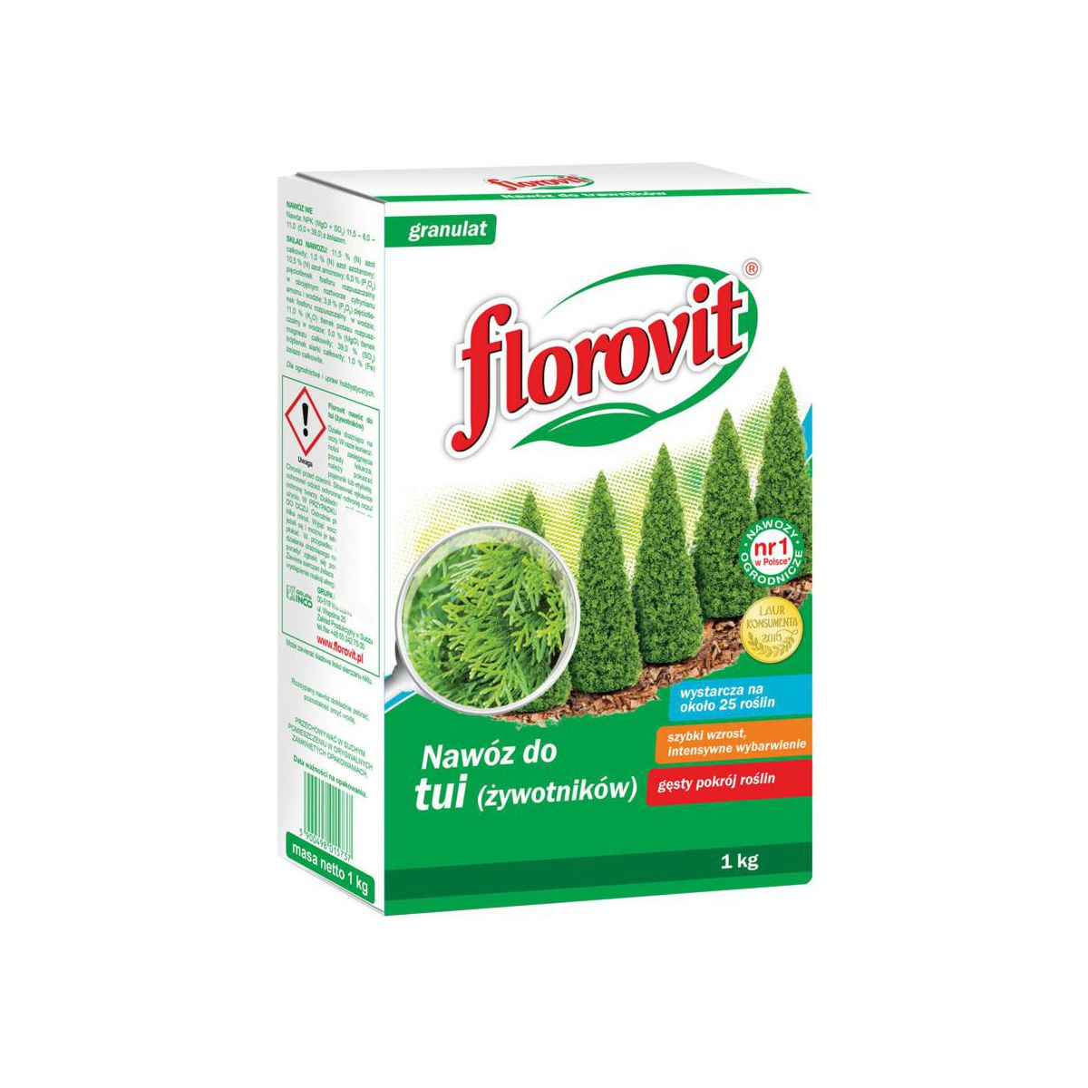 Nawóz do tui 1 kg FLOROVIT