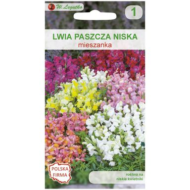 Nasiona kwiatów MIESZANKA Lwia paszcza niska W. LEGUTKO