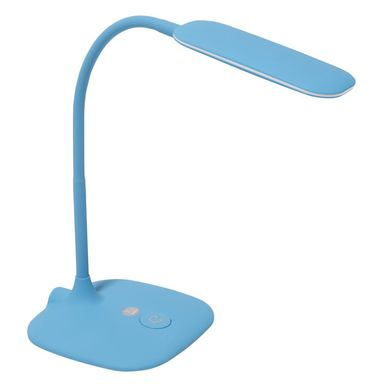 Lampa biurkowa MEI niebieska LED INSPIRE