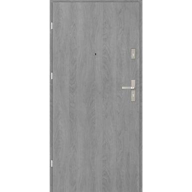 Drzwi wejściowe CASTELLO BASIC Grafit 90 Lewe EVOLUTION DOORS