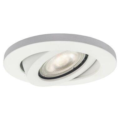 Oprawa stropowa oczko LAGOS ruchoma IP65 śr. 9.3 cm biała GU10 LIGHT PRESTIGE