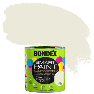 Farba wewnętrzna SMART PAINT 2.5 l Tupot białych mew BONDEX
