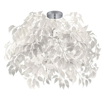 Lampa sufitowa Leavy biała 3 x E14 Trio Lighting Inter