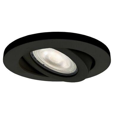 Oprawa stropowa oczko LAGOS ruchoma IP65 śr. 9.3 cm czarna GU10 LIGHT PRESTIGE