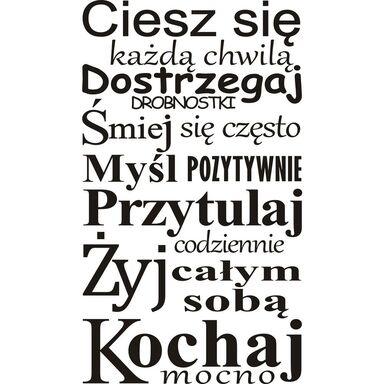 Naklejka KOCHAJ