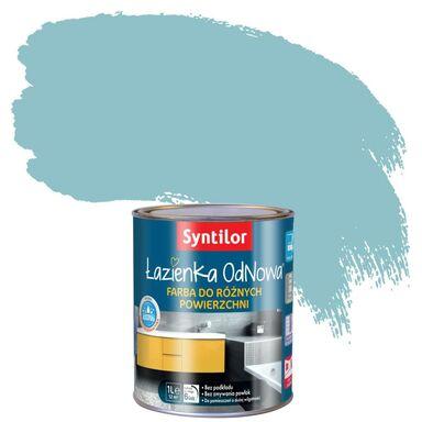 Farba do różnych powierzchni ŁAZIENKA ODNOWA 1 l Błękitny SYNTILOR