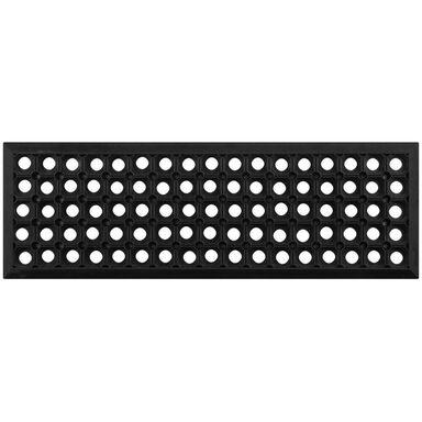 Nakładka schodowa ALFA czarna gumowa 75 x 25 cm