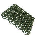 Kratka parkingowa ażurowa zielona 50x50x4 cm Scala Plastics