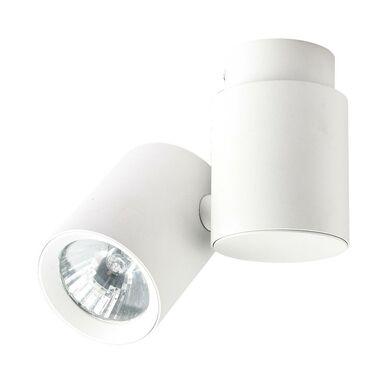 Oprawa natynkowa przegubowa BOSTON pojedyncza IP20 biała GU10 LIGHT PRESTIGE