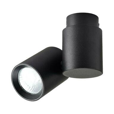 Oprawa natynkowa przegubowa BOSTON pojedyncza IP20 czarna GU10 LIGHT PRESTIGE