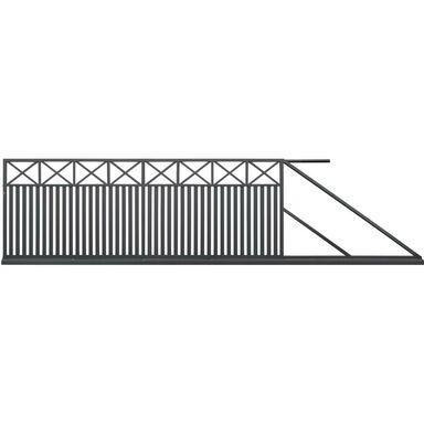 Brama przesuwna BOSTON 400 x 150 cm prawa POLBRAM