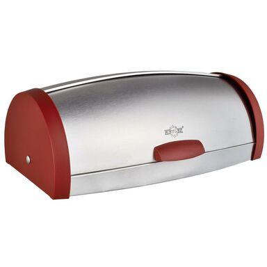 Chlebak stalowy MX1605RE czerwony Metlex