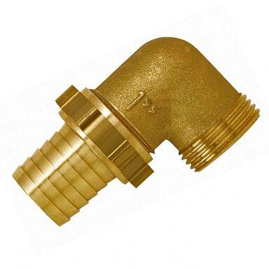 "Wylot pompy RC25 GZ 1"" - 25 mm (1"") mosiężne kolanko 90° BOUTTE"
