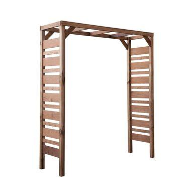 Pergola ogrodowa 180 x 60 x 210 cm drewniana BALI STELMET