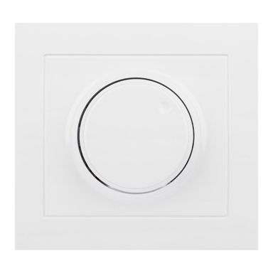 Ściemniacz przyciskowo-obrotowy KIER  biały  OSPEL