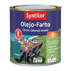 Olejo-Farba do mebli ogrodowych 0.5 l Niebieska SYNTILOR
