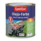Olejo-Farba do mebli ogrodowych 0.5 l szara SYNTILOR