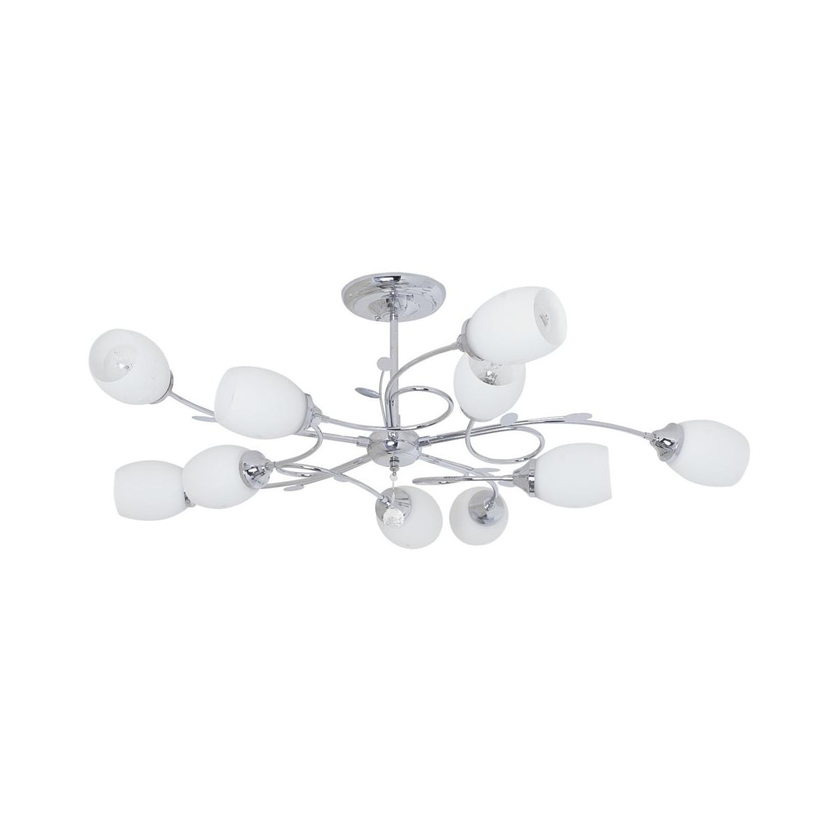 Zyrandol Akacia Chrom E27 Inspire Zyrandole Lampy Wiszace I Sufitowe W Atrakcyjnej Cenie W Sklepach Leroy Merlin