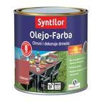 Olejo-Farba do mebli ogrodowych 0.5 l Czerwona SYNTILOR