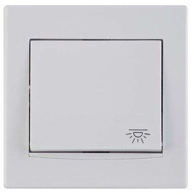 Przycisk światło ANYA  biały  SCHNEIDER