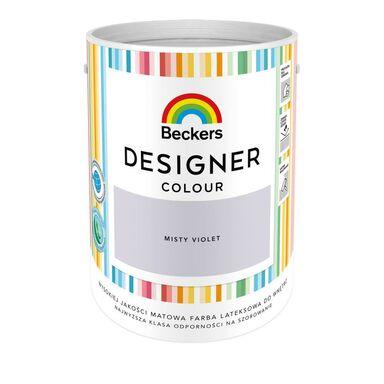 Farba wewnętrzna DESIGNER COLOUR 5 l Misty Violet BECKERS