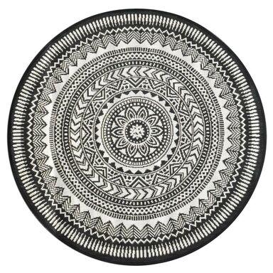 Dywan Ethnic Szary 120 X 120 Cm Wys Runa 0 Mm Balta Rugs