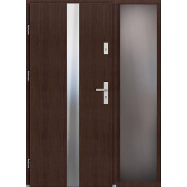 Drzwi wejściowe ARRAS Z DOSTAWKA PRZESZKLONA 90Lewe ELPREMA