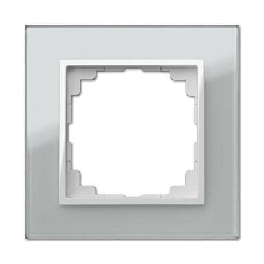 Ramka pojedyncza SENTIA  Srebrny  ELEKTRO - PLAST