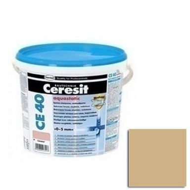 Fuga cementowa WODOODPORNA CE40  beżowy  2 kg CERESIT