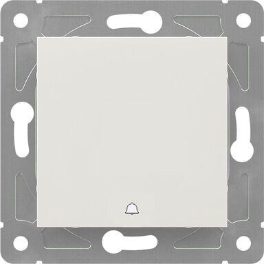 Przycisk dzwonek EDG1006W  biały  LEXMAN