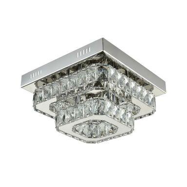 Lampa sufitowa MARIA srebrna LED SOLEJ