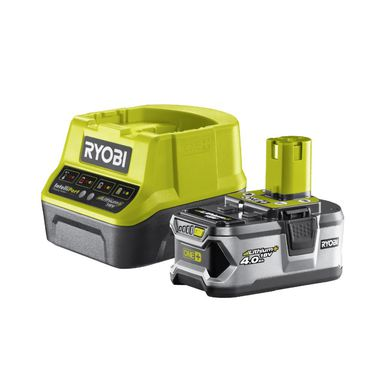 Zestaw akumulator i ładowarka RYOBI 18 V 4.0 Ah RC18120-140
