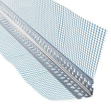 Narożnik aluminiowy z siatką 80 x 120 cm 2,5 mb NORGIPS