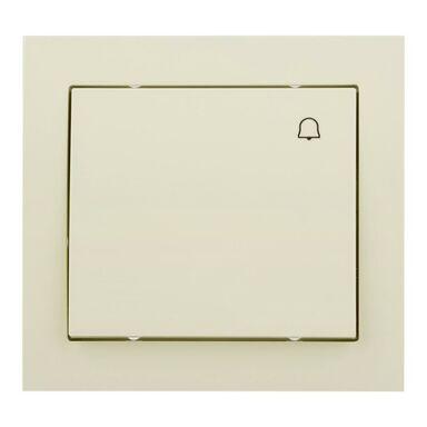 Przycisk dzwonek KIER  kremowy  OSPEL